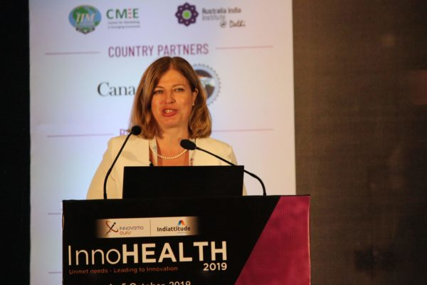 Amb Katrin Kivi, Keynote at Session 4 InnoHEALTH 2019