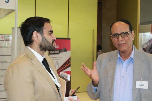 Arjun Dang and Dr. VK Singh at InnoHEALTH 2019