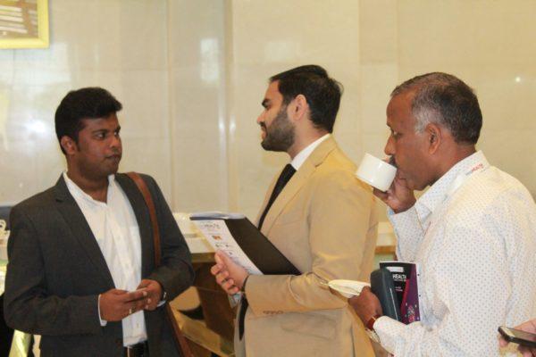 Arjun Dang and Prof. S. Venkat at InnoHEALTH 2019