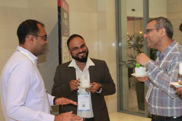 Bhaskar Motouru and Sharad Kumar at InnoHEALTH 2019