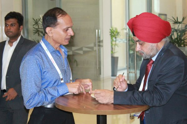 Brig. AK Tyagi and Major Gen. Jagtar Singh at InnoHEALTH 2019