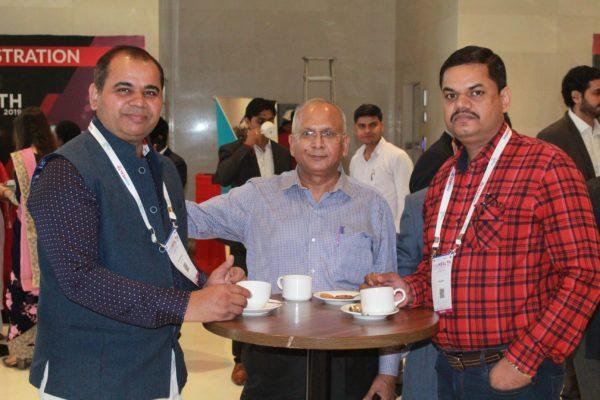 Brijander Singh and Rajiv Saini at InnoHEALTH 2019