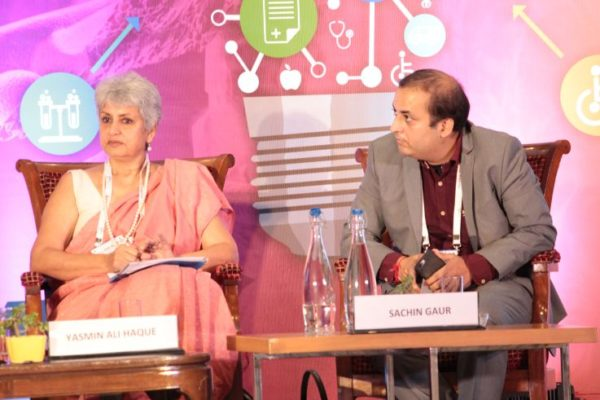 Dr Yasmin Ali Haque & Sachin Gaur at Inaugural session InnoHEALTH2019