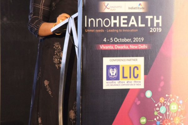Dr. Alpana Razdan, Session 9 at InnoHEALTH 2019