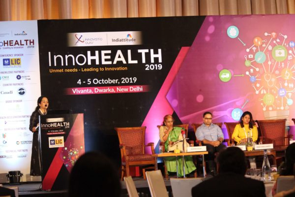 Dr. Alpana Razdan , Session 9 at InnoHEALTH 2019