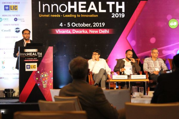 Dr. Amit Raj, Session 8 at InnoHEALTH 2019