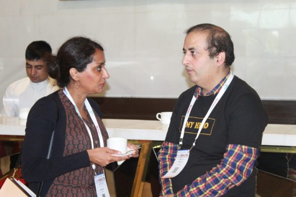 Dr. Annie George Chandy and Sachin Gaur at InnoHEALTH 2019