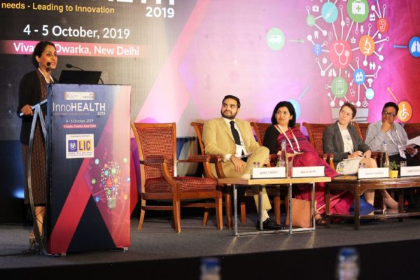 Dr. Annie George Chandy at InnoHEALTH 2019