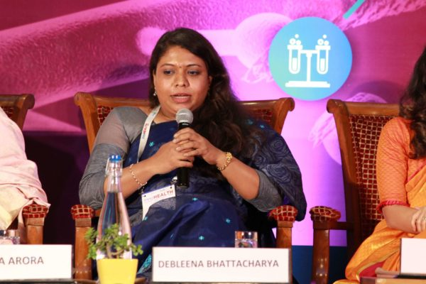Dr. Debleena Bhattacharya at Session 4 InnoHEALTH 2019