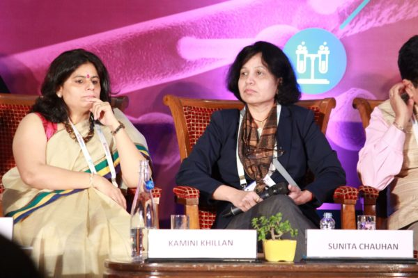 Dr. Kamini Khillan & Dr. Sunita Chauhan at Session 3 InnoHEALTH 2019