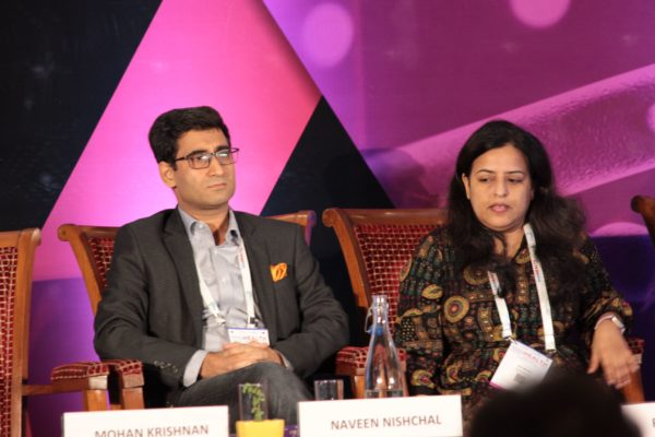 Dr. Naveen Nishchal & Dr. Rajni Wadhwa, Panelists at Session 2 InnoHEALTH 2019