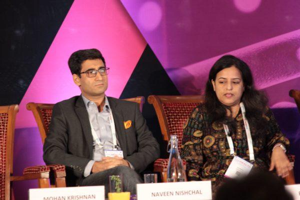 Dr. Naveen Nishchal & Dr. Rajni Wadhwa, Panelists at Session 2 InnoHEALTH 2019
