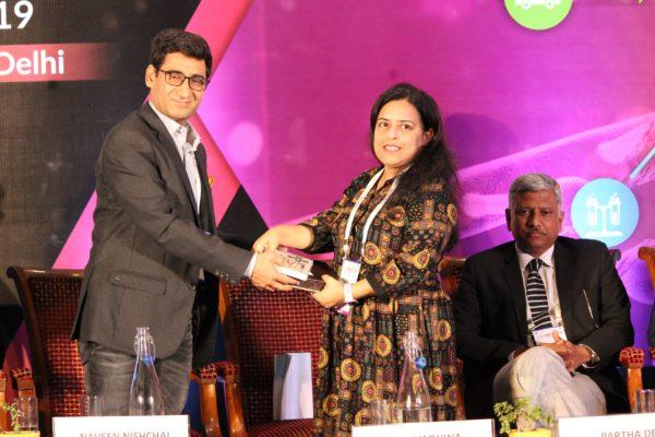Dr. Naveen Nishchal & Dr. Rajni Wadhwa at Session 2 InnoHEALTH 2019