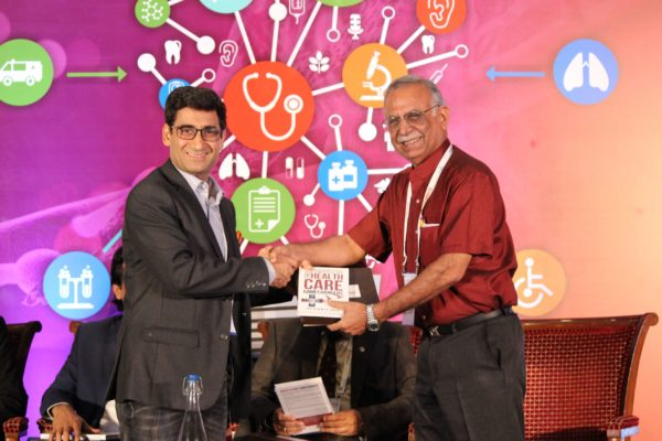 Dr. Naveen Nishchal & Dr. Sanjiv Kumar at Session 2 InnoHEALTH 2019
