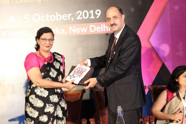 Dr. Ravi Gaur & Dr. Sonal Saxena at Session 3 InnoHEALTH 2019