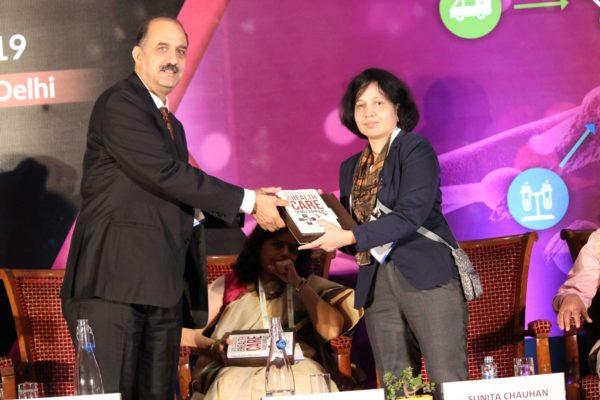 Dr. Ravi Gaur & Dr. Sunita Chauhan at Session 3 InnoHEALTH 2019