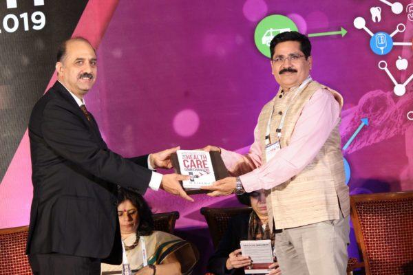 Dr. Ravi Gaur & Rajesh R Singh at Session 3 InnoHEALTH 2019