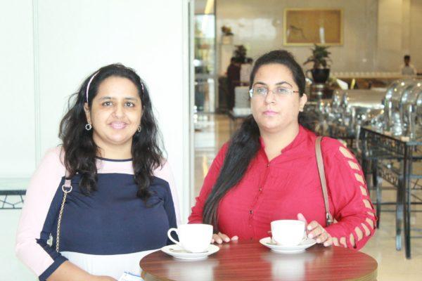 Dr. Richa Pandey and Dr. Himanshi enjoying the moment at InnoHEALTH 2019