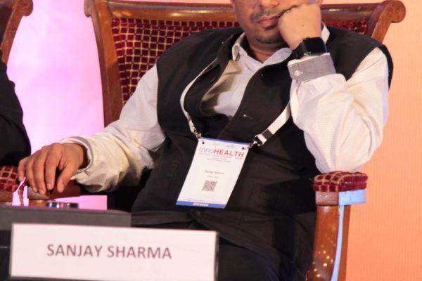 Dr. Sanjay Sharma at Session 3 InnoHEALTH 2019