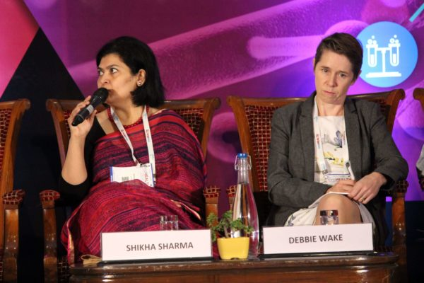 Dr. Shikha Sharma & Dr. Debbie Wake , Session 6 at InnoHEALTH 2019