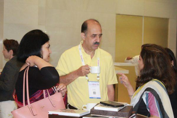 Dr. Sonal Saxena and Dr. Ravi Gaur at InnoHEALTH 2019