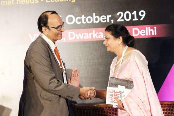 Dr. V K Singh & Upasana Arora at Session 4 InnoHEALTH 2019