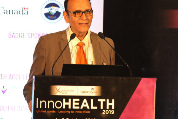 Dr. V K Singh at Inaugural session InnoHEALTH2019