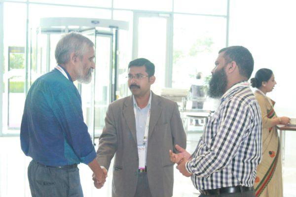 Gopinath K, JP Jayan and Prof. Nashim at InnoHEALTH 2019