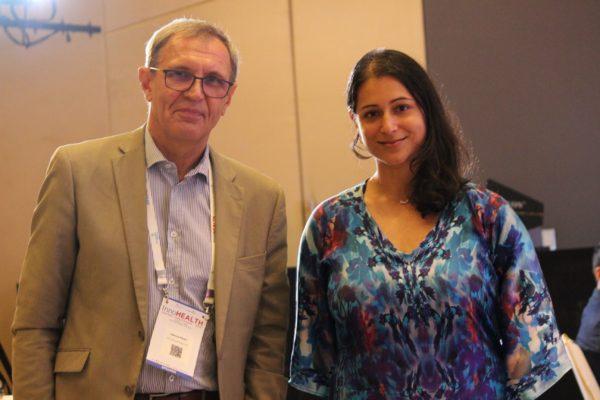 Jaanus Pikani and Tanya Spisbah at InnoHEALTH 2019