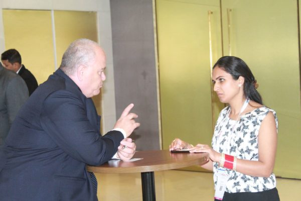 Jacky Ovadia and Anu Kohli at InnoHEALTH 2019