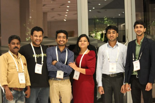 Johny Anthony, Clarion Smith, Chetan Bansiwal, Parthvee Jain, Sayyam Jain and Shivank Khandelwal at InnoHEALTH 2019
