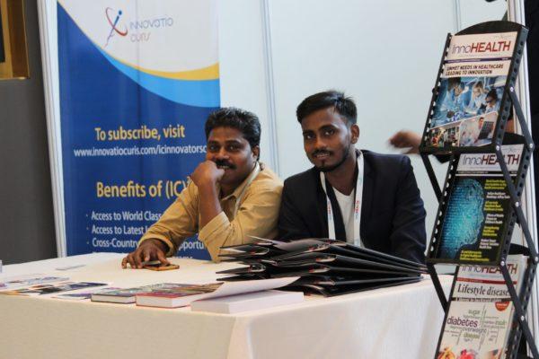 Johny Anthony and Mukesh Prajapati at InnoHEALTH 2019