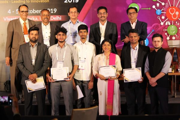 Jury & candidates group, Session 5 at InnoHEALTH 2019