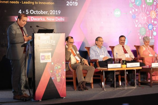 Karnal Singh & Sachin Gaur at Inaugural session InnoHEALTH2019!