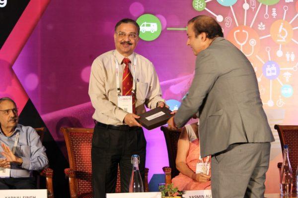Lt General (Dr) Rajesh Pant & Sachin Gaur at Inaugural session InnoHEALTH2019!