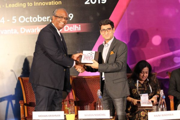 Mohan Krishnan & Dr. Naveen Nishchal at Session 2 InnoHEALTH 2019