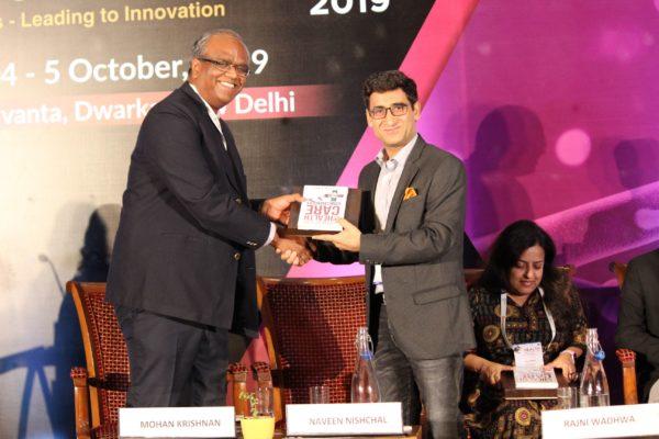 Mohan Krishnan & Dr. Naveen Nishchal at Session 2 InnoHEALTH 2019