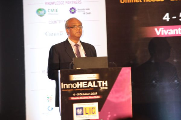 Mohan Krishnan, Keynote at Session 2 InnoHEALTH 2019