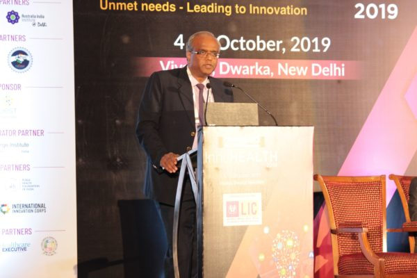 Mohan Krishnan at Session 2 InnoHEALTH 2019