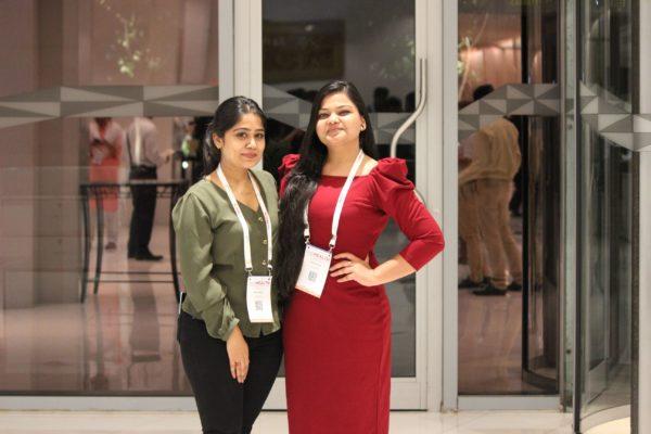 Neha Prakash and Parthvee Jain at InnoHEALTH 2019