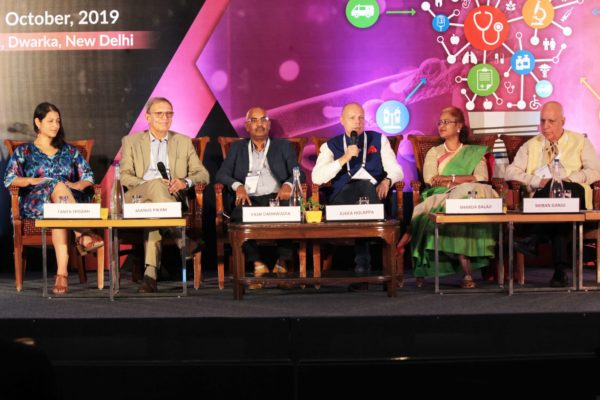 Panelists, Session 7 at InnoHEALTH 2019