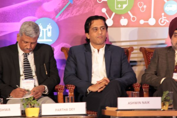 Partha Dey & Dr. Ashwin Naik, Panelists at Session 2 InnoHEALTH 2019 .jpg