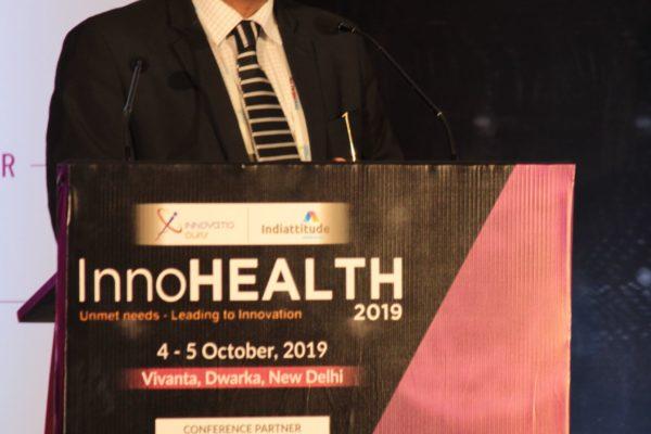 Partha Dey, Panelist at Session 2 InnoHEALTH 2019