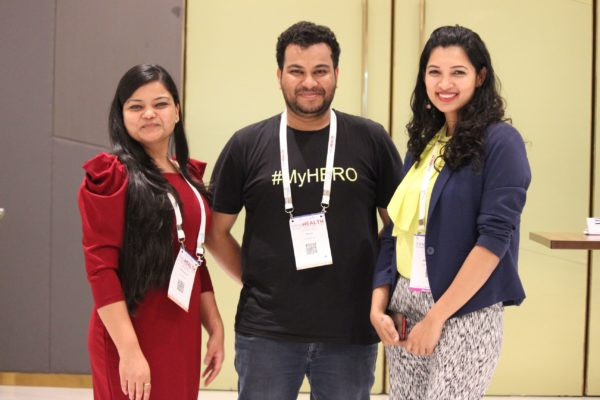Parthvee Jain, Clarion Smith and Sherlyn Dcosta at InnoHEALTH 2019