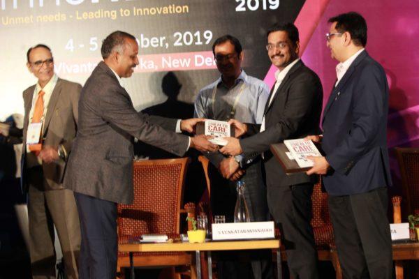 Prof S Venkataramanaiah & Dr. Saurabh Gupta at Session 5, InnoHEALTH 2019