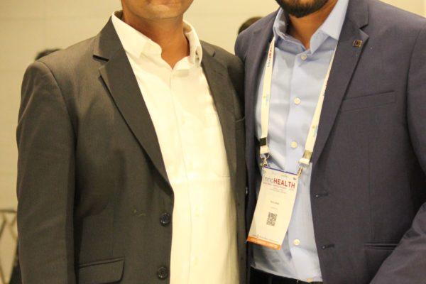 Prof Saurabh Gupta and Dhruv Singh at InnoHEALTH 2019
