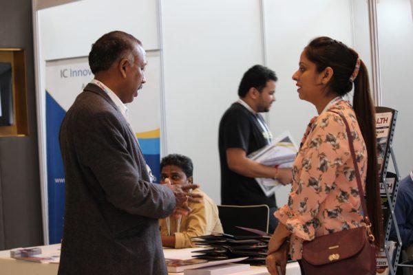Prof. S. Venkat and Dr. Jasmeet Kaur at InnoHEALTH 2019