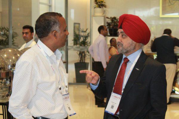 Prof. S. Venkat and Major Gen. Jagtar Singh at InnoHEALTH 2019