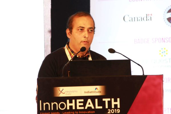 Sachin Gaur, Session 6 at InnoHEALTH 2019
