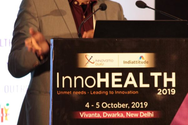 Sachin Gaur at Inaugural session InnoHEALTH2019!